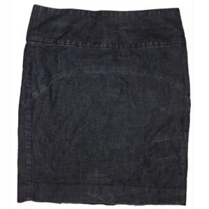 Gap Pencil Jean Skirt • 4